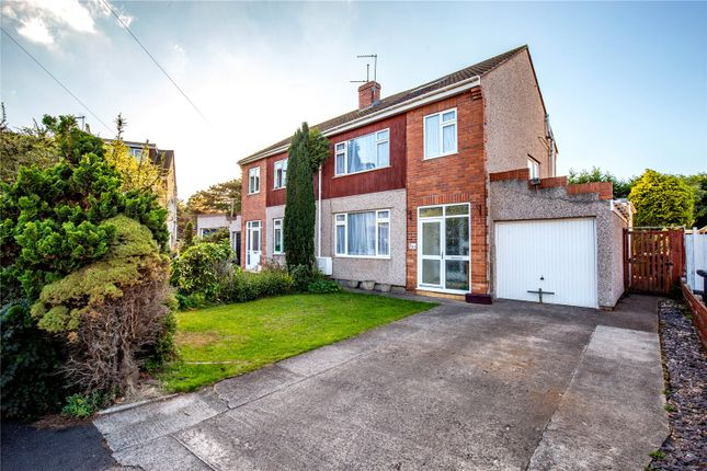 Thumbnail Semi-detached house for sale in Stanshaw Close, Frenchay, Bristol