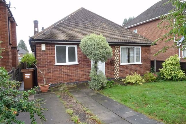 Thumbnail Detached bungalow to rent in Stanley Road, Hinckley