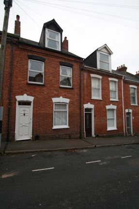 Thumbnail Terraced house to rent in Portland Street, Newtown Exeter