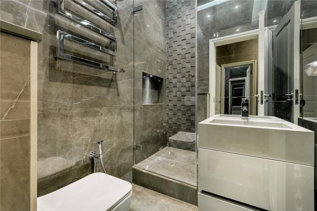 Shower Room of Park Mansions, Knightsbridge, London SW1X