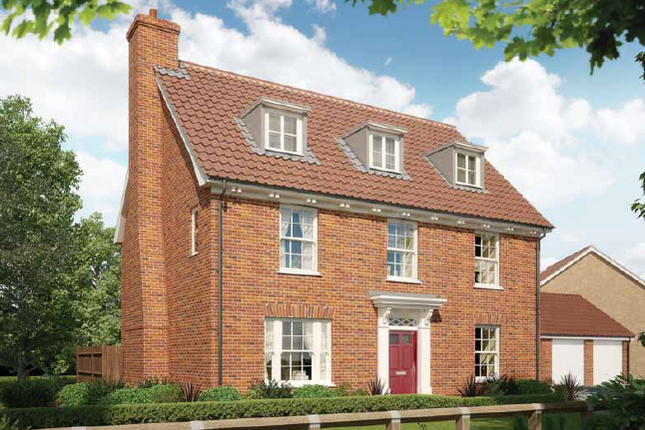 Thumbnail Detached house for sale in The, Oakley Park, Mulbarton, Norfolk