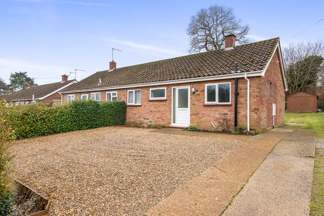 2 bed semi-detached bungalow for sale in Elizabeth Avenue, Thorpe St Andrew, Norwich