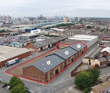 Thumbnail Industrial for sale in Liverpool Docklands, Bootle