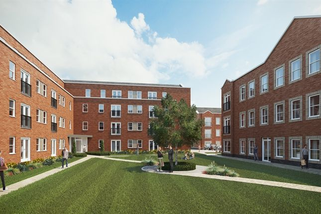 Thumbnail Flat for sale in The Railings, Woodside Park, Rugby