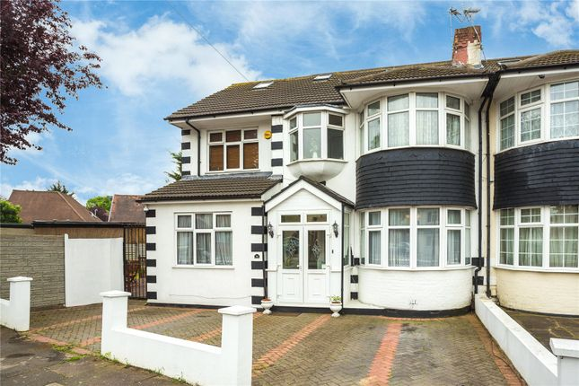 Thumbnail Semi-detached house for sale in Brinkworth Road, Ilford