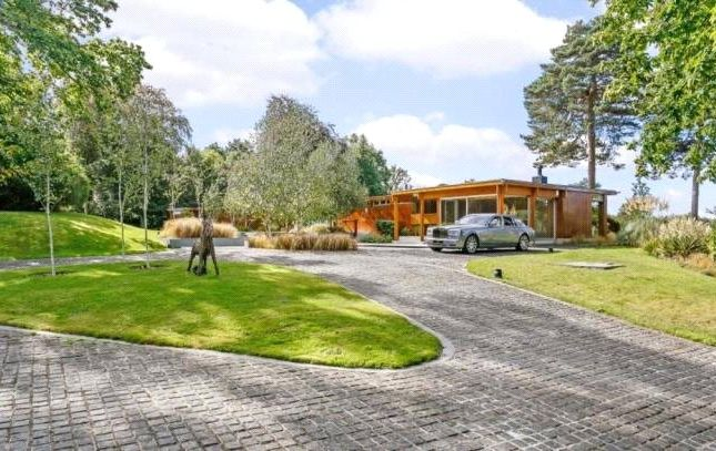 Thumbnail Bungalow for sale in Westwood Road, Windlesham, Surrey