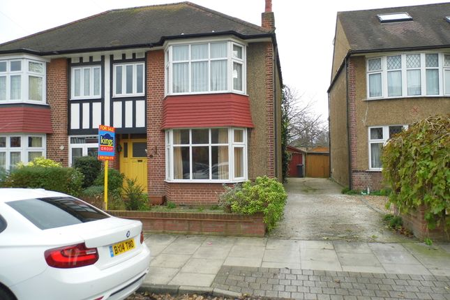 Thumbnail Semi-detached house for sale in Ladysmith Road, Enfield Town