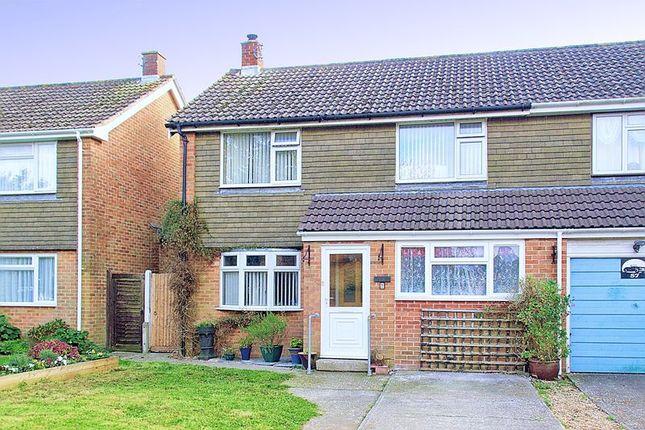 Thumbnail Semi-detached house for sale in Lavant Down Road, Lavant, Chichester