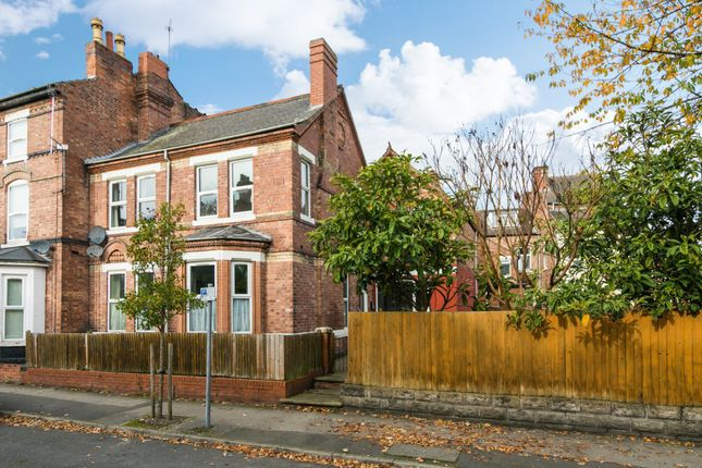Thumbnail End terrace house for sale in Colville Street, Nottingham