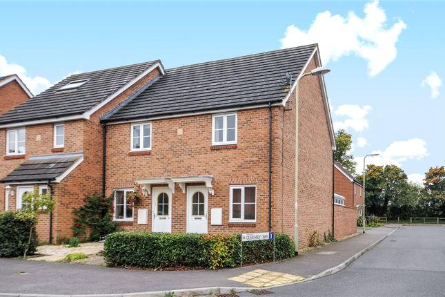 Thumbnail End terrace house to rent in Guernsey Way, Winnersh, Wokingham, Berkshire
