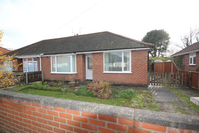 Thumbnail Bungalow to rent in Gorse Road, Norwich