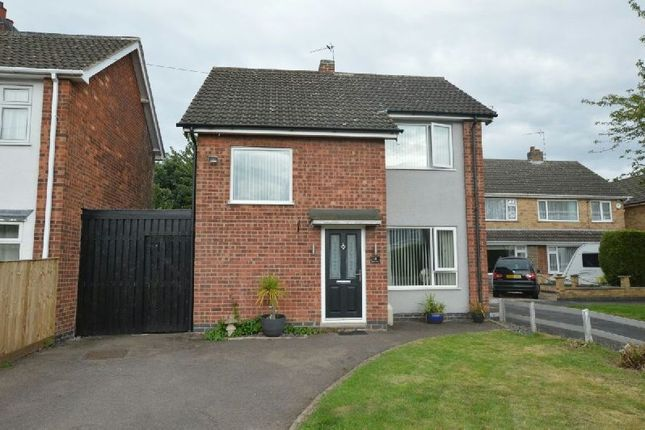 Thumbnail Detached house for sale in Ripon Drive, Blaby, Leicester
