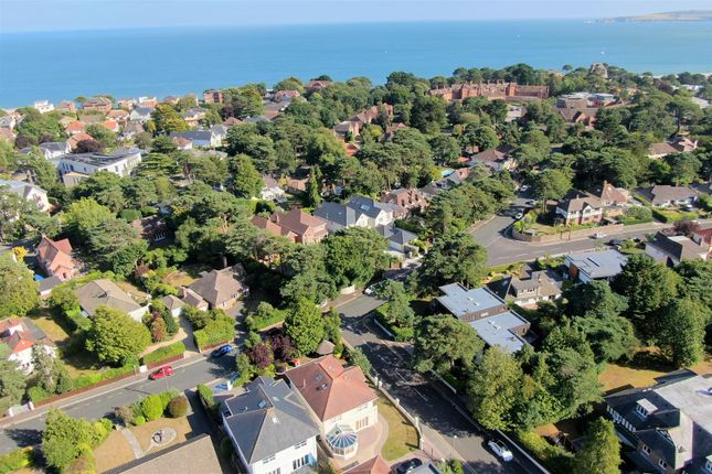 Aerial  (7) of Inverness Road, Canford Cliffs, Poole BH13