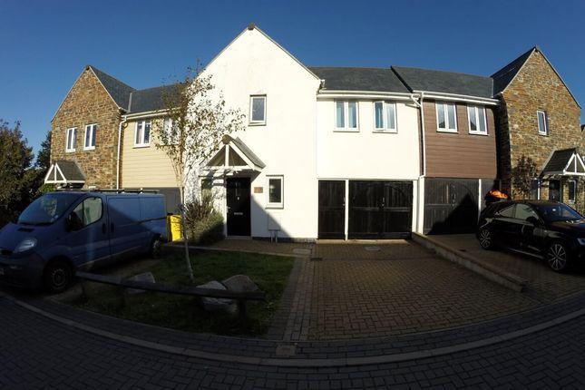 Semi-detached house for sale in Kew Breanek, St Agnes, Truro
