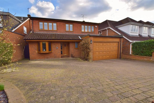 Thumbnail Detached house for sale in Prince Edward Road, Billericay