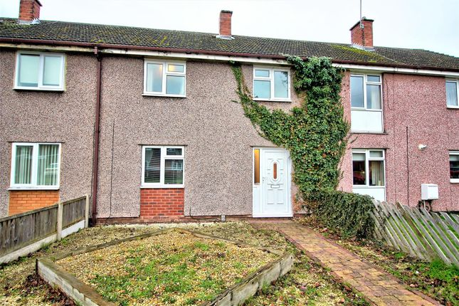Thumbnail Terraced house to rent in Grindcobbe Grove, Rugeley
