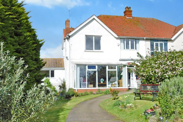 Thumbnail Semi-detached house for sale in St Andrews Drive, Skegness, Lincs