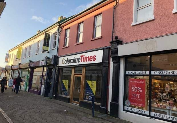 Office to let in Stone Row, Coleraine, County Londonderry
