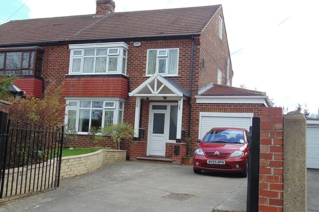 Thumbnail Semi-detached house for sale in Bishopton Avenue, Stockton-On-Tees