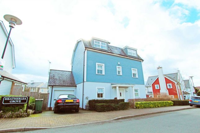 Thumbnail Detached house for sale in Heatherlea Grove, Worcester Park