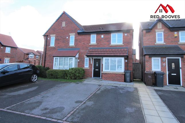 Thumbnail Semi-detached house for sale in Ashford Close, Litherland