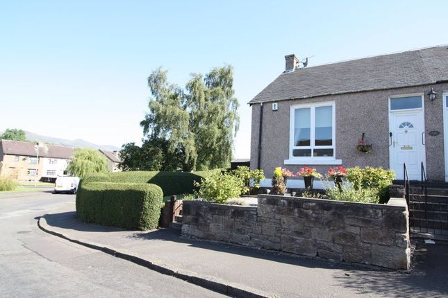 Thumbnail Semi-detached bungalow for sale in West View Cottage North, Keilarsbrae, Sauchie