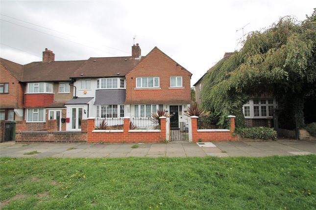 Thumbnail End terrace house to rent in Jevington Way, Lee, Lewisham, London