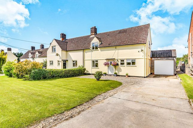 Thumbnail Semi-detached house for sale in High Street, Chrishall, Royston