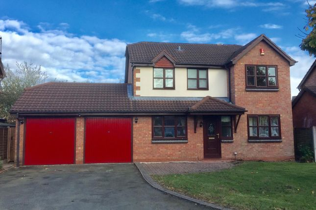 Thumbnail Detached house to rent in Wilderhope Close, Crewe