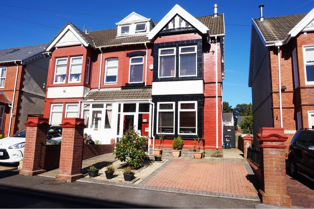 Thumbnail Semi-detached house for sale in Lancaster Villas, Merthyr Tydfil