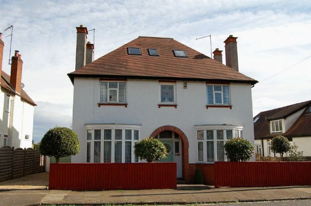 Thumbnail Detached house for sale in Weston Way, Weston Favell Village, Northampton