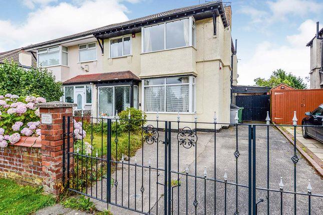 Thumbnail Semi-detached house for sale in Hesketh Avenue, Birkenhead, Merseyside