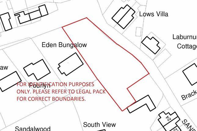 Thumbnail Land for sale in Sandy Lane, Brown Edge, Stoke-On-Trent