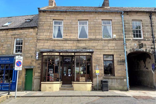 Thumbnail Retail premises for sale in Alnwick Barbering Company, 7 Clayport Street, Alnwick