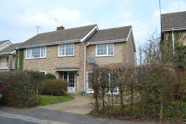 Thumbnail Detached house to rent in King Edgar Close, Ely