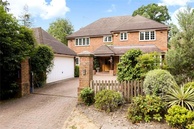 Thumbnail Detached house for sale in Brackendale Road, Camberley, Surrey