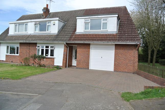 Thumbnail Semi-detached house for sale in Latimer Close, Blaby, Leicester
