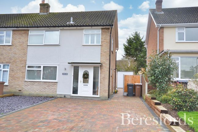3 bed semi-detached house for sale in Millfields, Writtle, Chelmsford, Essex CM1