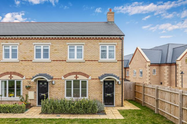 Thumbnail Semi-detached house for sale in Beatrice Place, Fairfield Gardens, Fairfield, Herts