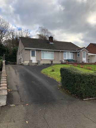 Thumbnail Semi-detached bungalow to rent in Castle Drive, Neath