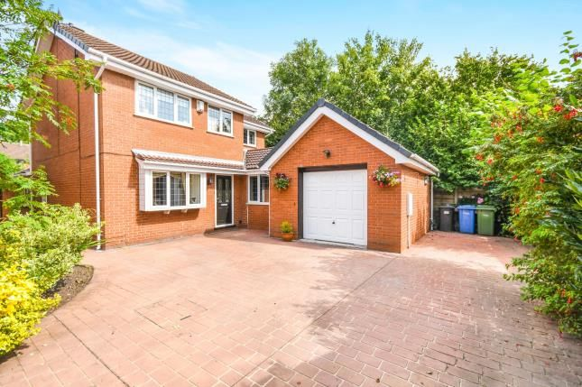 Thumbnail Detached house for sale in Mill Close, Houghton Green, Warrington