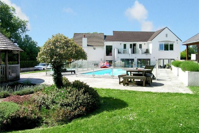 Thumbnail Detached house to rent in Rudry Road, Lisvane, Cardiff