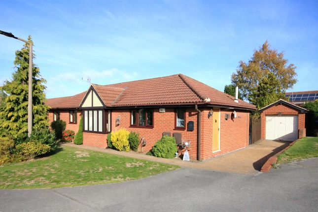 Thumbnail Detached bungalow for sale in Pool Drive, Bessacarr, Doncaster