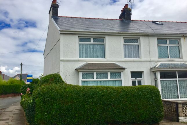 Thumbnail End terrace house to rent in Poplar Avenue, Porthcawl