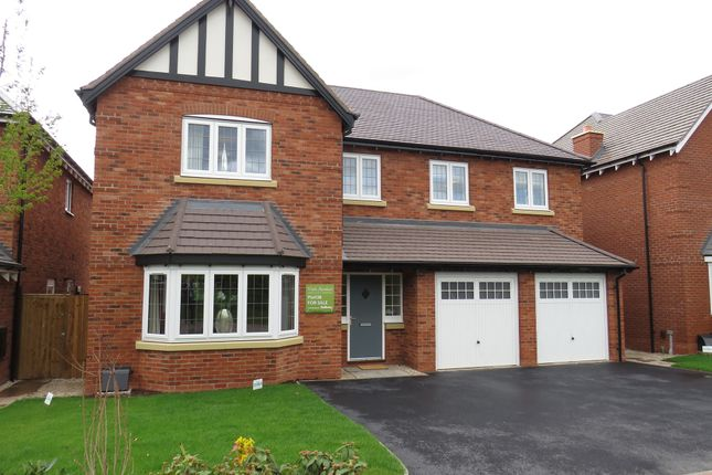 Thumbnail Detached house for sale in Meadow Way, Tamworth