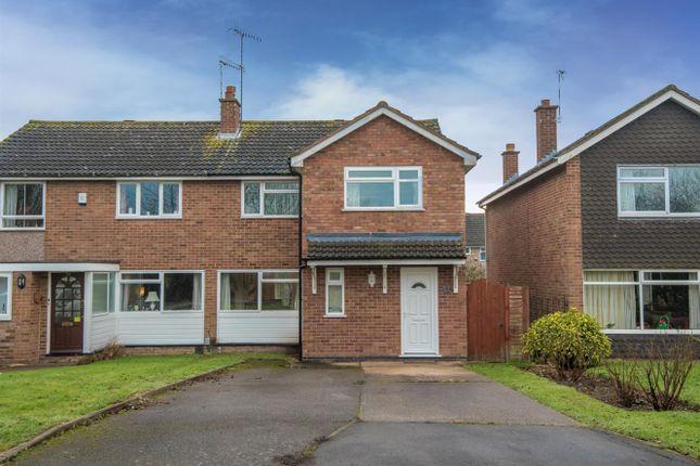 Thumbnail Semi-detached house for sale in Bishopton Lane, Stratford-Upon-Avon