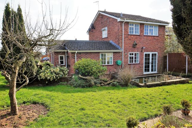 Thumbnail Detached house for sale in Parklands Road, Stoke-On-Trent