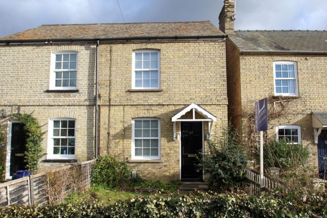 Thumbnail Semi-detached house to rent in Sapley Road, Hartford, Huntingdon