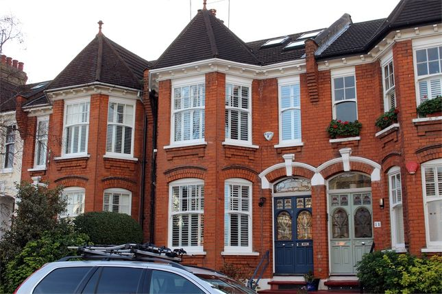 Thumbnail Terraced house for sale in Thirlmere Road, Muswell Hill, London