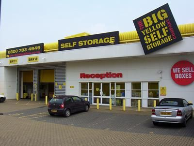 Warehouse to let in Big Yellow Self Storage Luton, Caleb Close, Dunstable Road, Luton